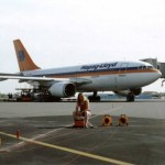 Abb. 1: Widerstandstiefensondierungen im Flughafenbereich
